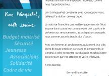 Lettre de Bernard Hanicotte
